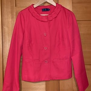 Boden - Gorgeous Red Blazer - size 6